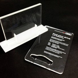 Tech Audi Namecard Mould