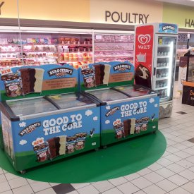POS Display Ben & Jerry 01