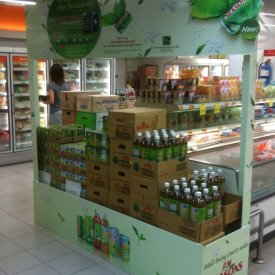 POS Display F&N Green Tea 01