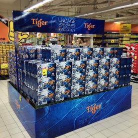 POS Display Tiger 02