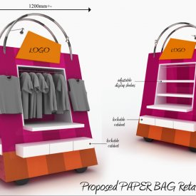 Print Design Retail Cart Design 01