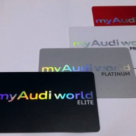 Ready-Made Audi Namecard