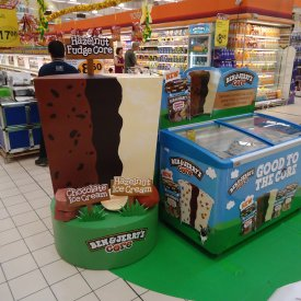 POS Display Ben & Jerry 03