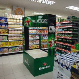 POS Display Heineken 01