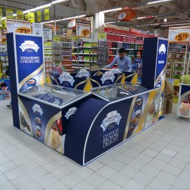 POS Display London Dairy 01