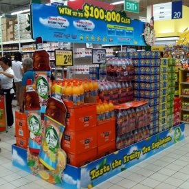 POS Display Heaven & Earth 01