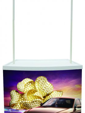 Display Stand Promotion Counter 01