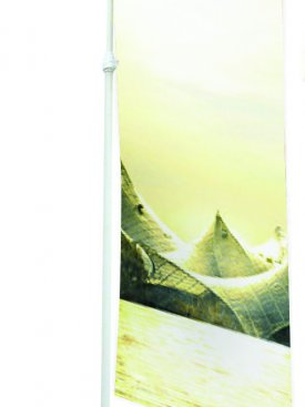 Display Stand Flag Pole 01