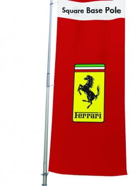 Display Stand Flag Pole 02