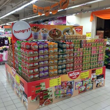 POS Display : Nissin