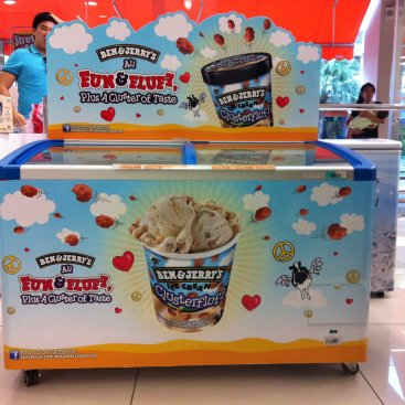 POS Display : Ben & Jerry
