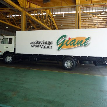 Large Format Vehicle Tang Chong – Giant Box Lorry