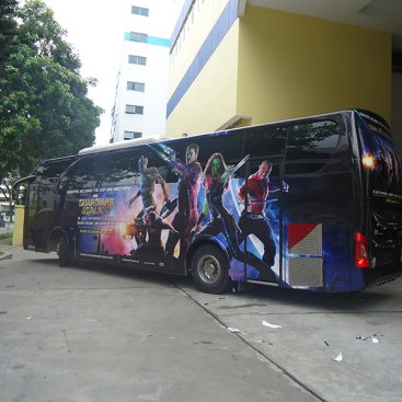 Large Format Vehicle : Guardians of the Galaxy Bus