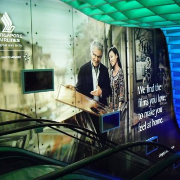 Large Format Outdoor Media : Singapore Airlines