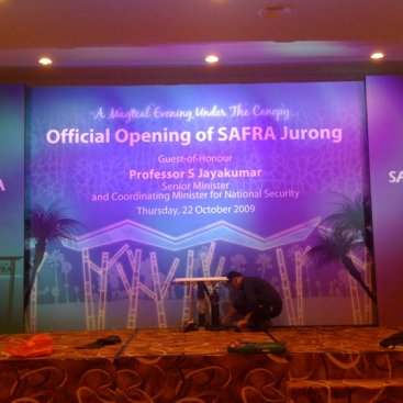 Large Format Backdrop : Safra