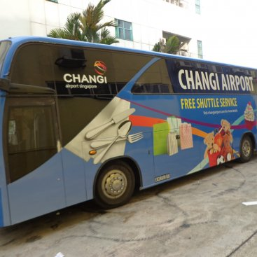 Large Format Vehicle Changi Airport Bus – PC 5999E