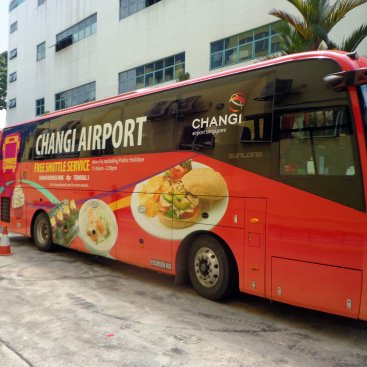 Large Format Vehicle Changi Airport Bus – PC 955P