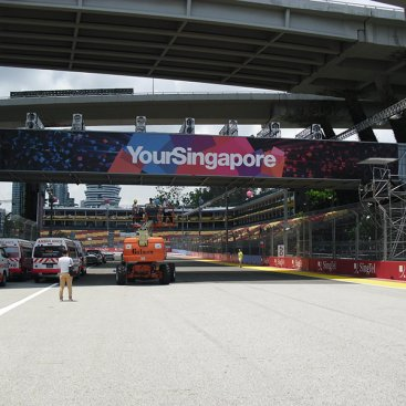 Large Format Product Advert : Your Singapore