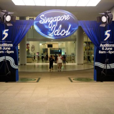 Fabrication : Singapore Idol