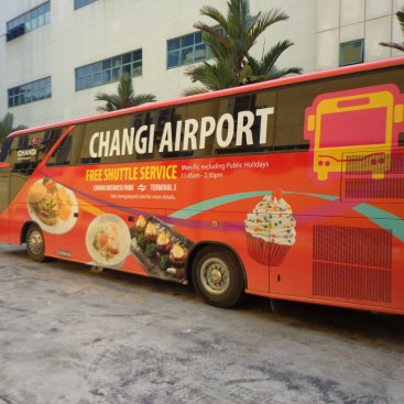 Large Format Vehicle Changi Airport Bus – PC 595U