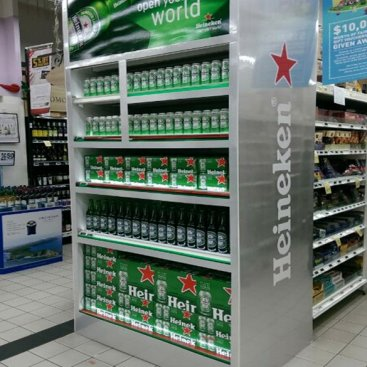 POS Display : Heineken