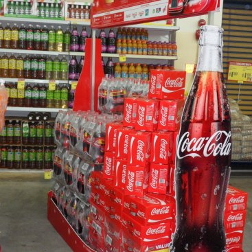 POS Display : Coke