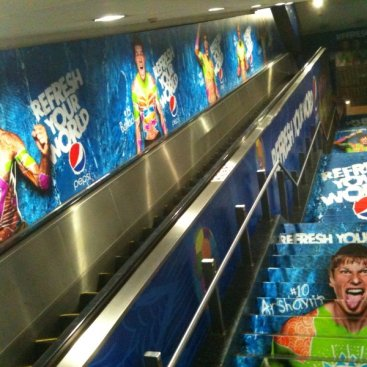 Large Format Outdoor Media : Pepsi