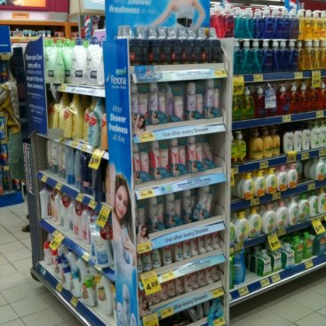 POS Display : Rexona