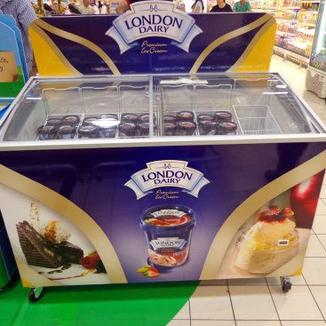 POS Display : London Dairy