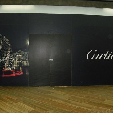 Large Format Hoarding : Cartier