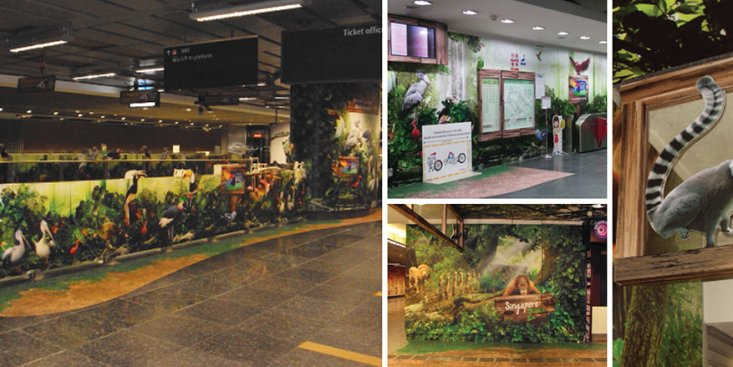 Large Format Outdoor Media : Singapore Zoo