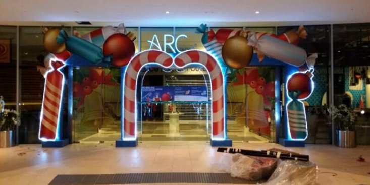 Fabrication : Arc Deco